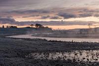 Kintore misty river